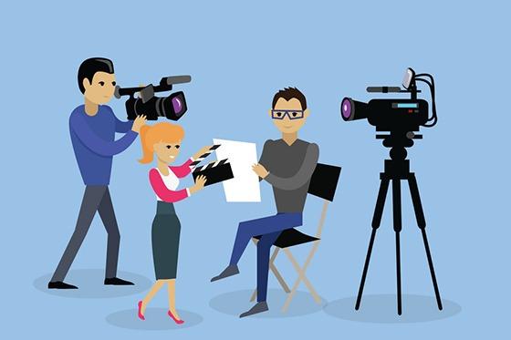 teamuitje creatief film maken